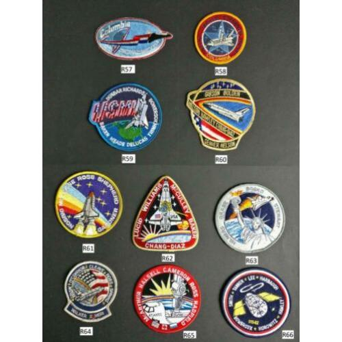 10 schitterende Space Shuttle patches