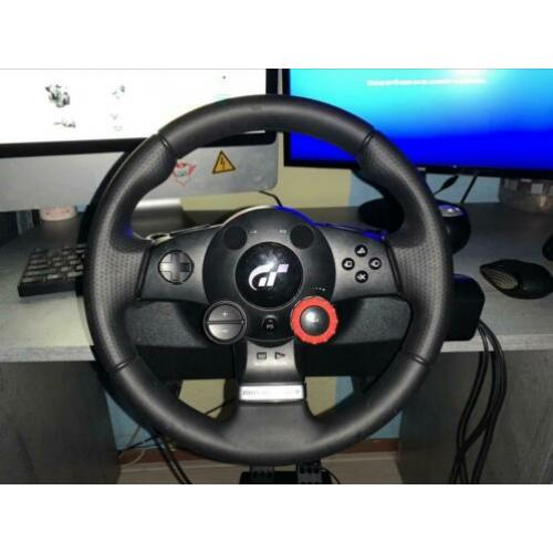 Logitech Driving Force GT. Incl alle orginele kabels