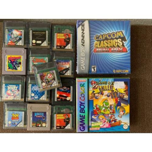 23 Nintendo GameBoy games ! Color Advance, CIB compleet los
